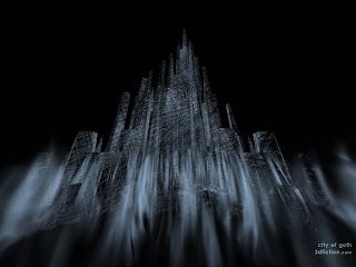 City Of Goth Dark Gothic Wallpaper