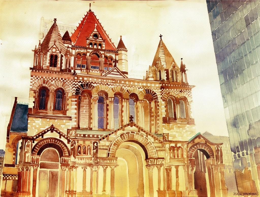29-Trinity-Church-Maja-Wronska-Travels-Architecture-Paintings-www-designstack-co