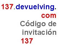 Regístrate en www.137.devuelving