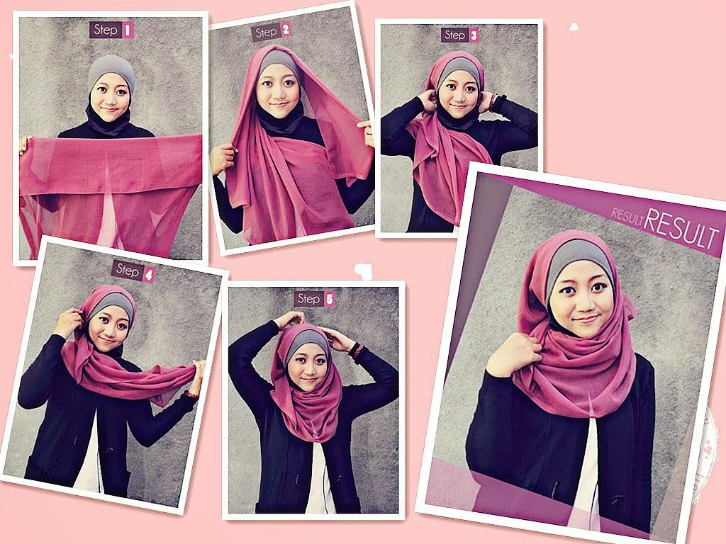 Gambar Cara Memakai Jilbab 2012 ~ Eriiee Anthiiee