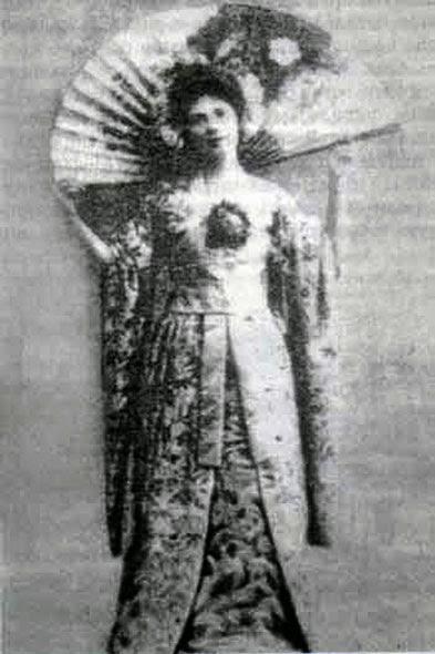 Yadviga Lubanskaya - ghost White Dame in Belarus