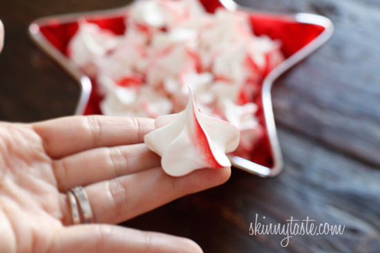 Chocolate Ganache Crushed Candy Canes And Peppermint Swiss Meringue