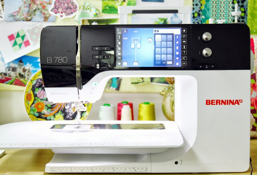 The BERNINA 780 Creative Consultant