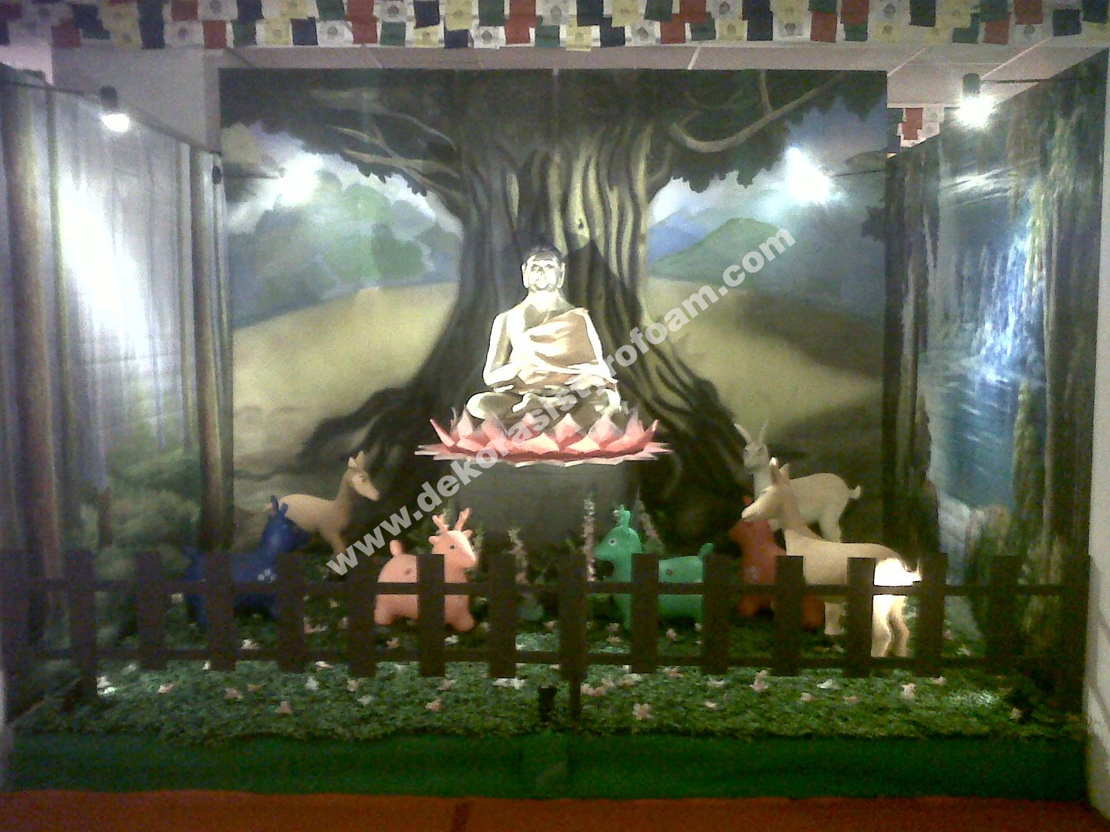 Dekorasi styrofoam pameran fsbbi di prj for Dekorasi lebaran hotel