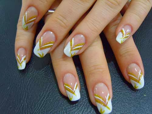 Gold Nail Art Designhttp9ailssidespotnail Side