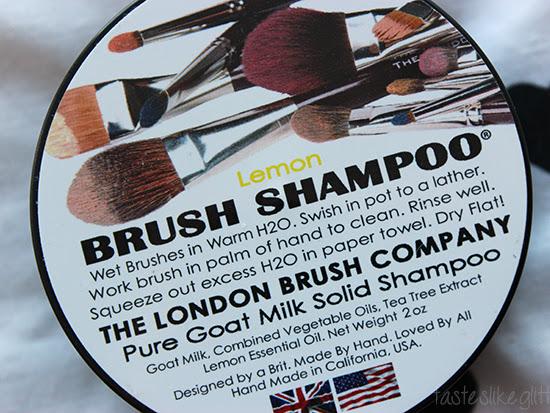 The London Brush Company - Solid Brush Shampoo.
