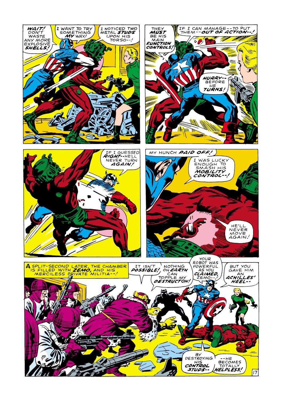 Captain America (1968) Issue #100 #14 - English 18