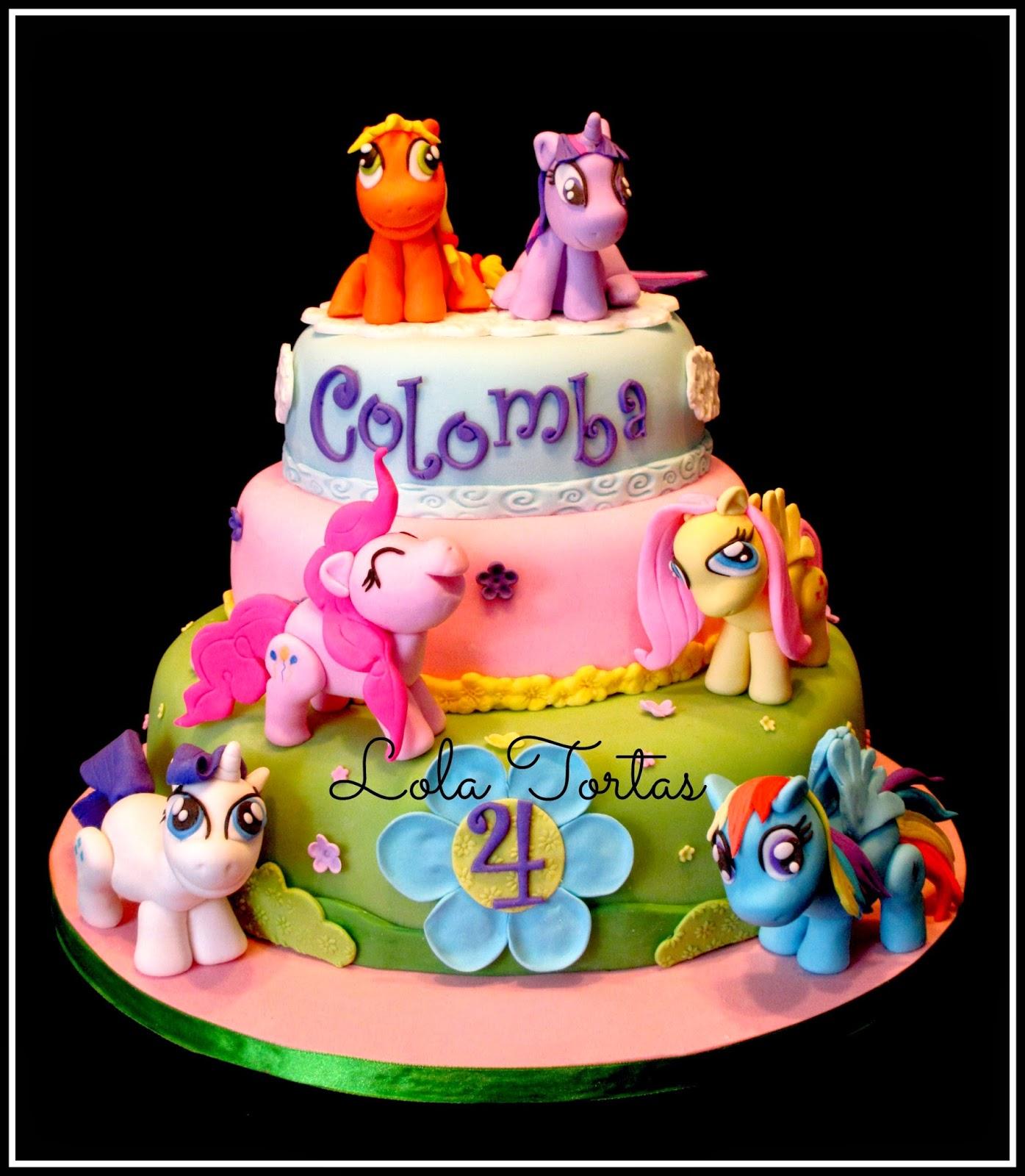 Lola Tortas: Torta My Little Pony