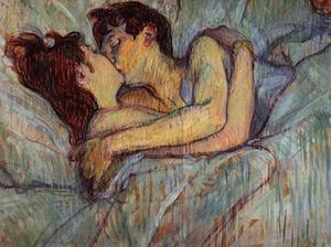 Toulouse-Lautrec. El beso
