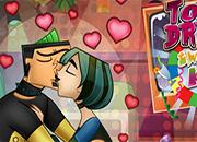 juego Total Drama Twister Kiss