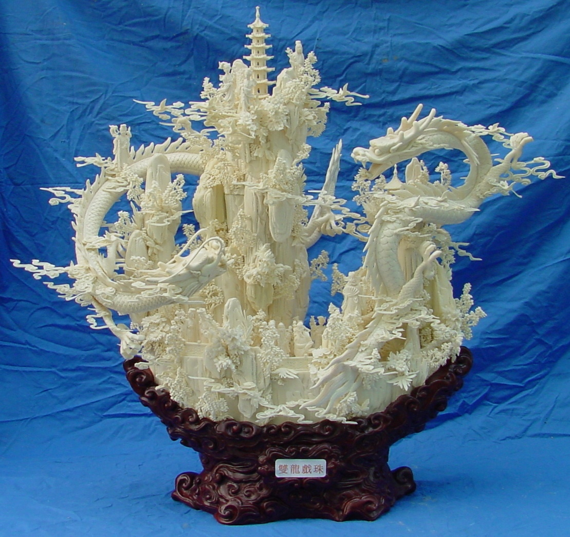 Amazing Work: OKE NAPA: Amazing Art Work Of Bone Carving
