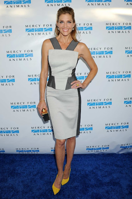 Actress, Model @ Tricia Helfer - at 2015 Mercy For Animals' Hidden Heroes Gala