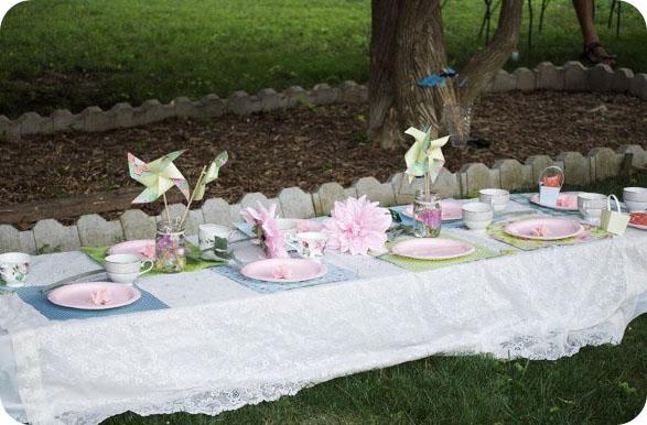 Back To Domestics A Garden Tea Party