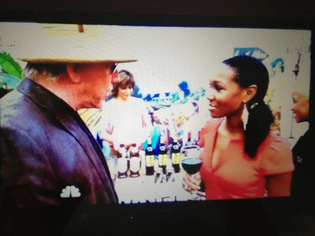 Celebrity Apprentice Gary Busey flirts with Teri Johnson of Travelista TV 