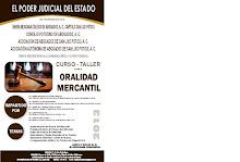 Curso Taller sobre Oralidad Mercantil en SLP