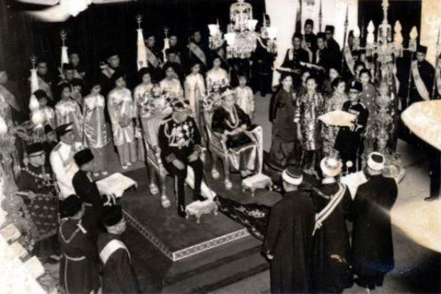 Istiadat Kemahkotaan Sultan Johor