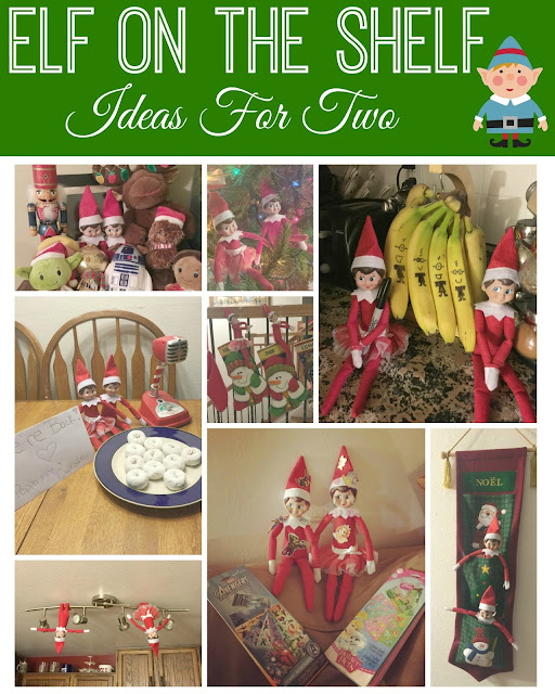 Elf On The Shelf - Ideas For Two, elves, elf on the shelf ideas, easy elf on the shelf ideas, elf on the shelf, EOTS, #Elfontheshelf, creative elf on the shelf ideas, fun elf on the shelf ideas,