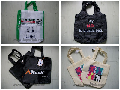 Eco-friendly carrier bag Collection, an update