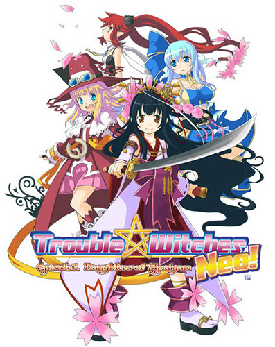 Download Trouble Witches ENG / JAP PC Game Full Version