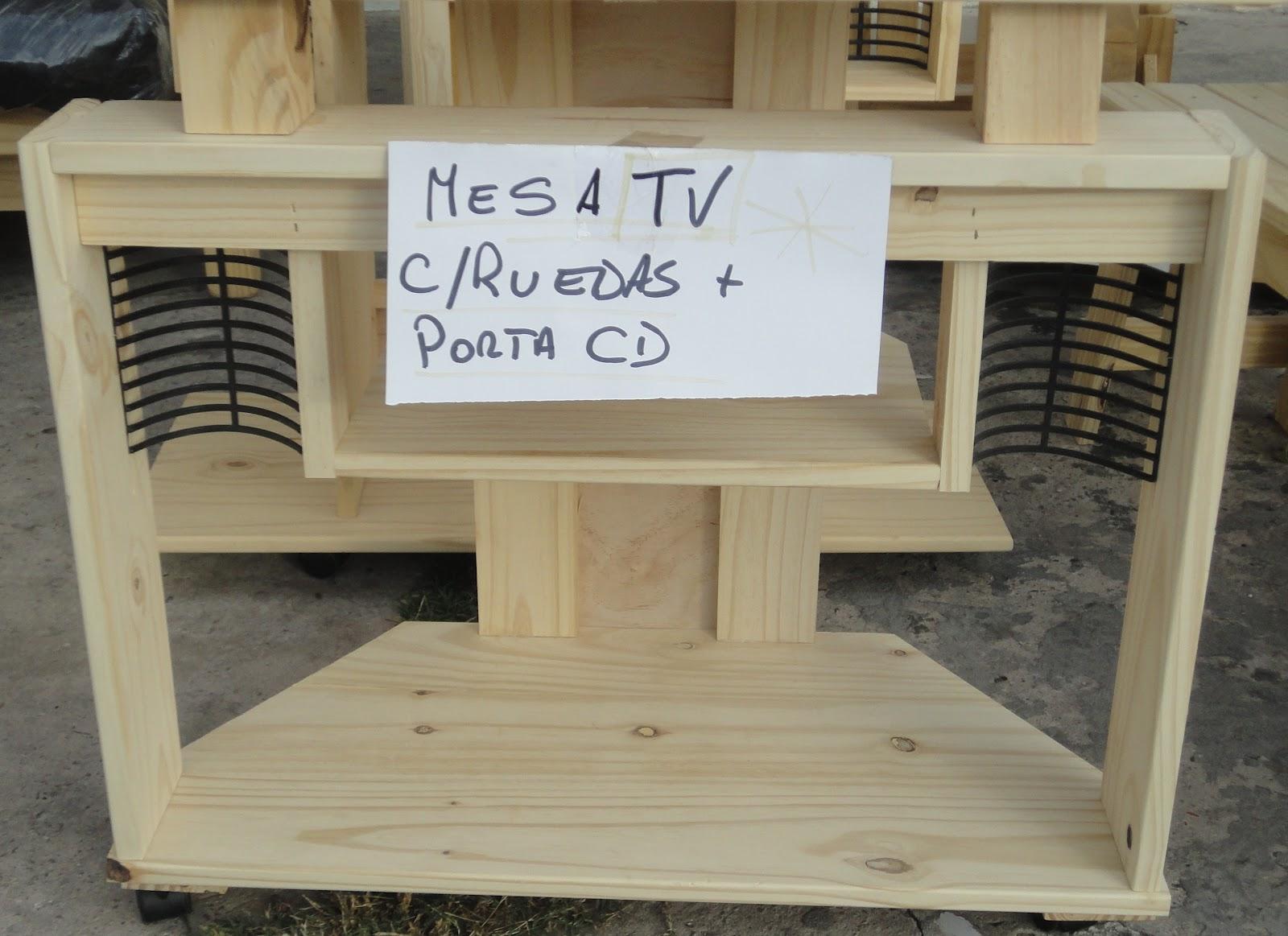Simona hogar mesa de tv hasta 29 con ruedas Mesas de television con ruedas