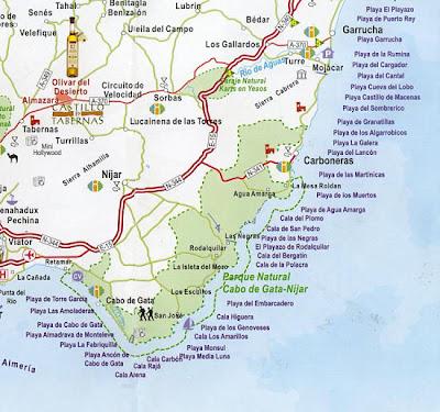 Almería mapa