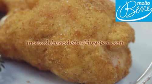 Involtini di tacchino fritti ricetta Parodi per Molto Bene su Real Time