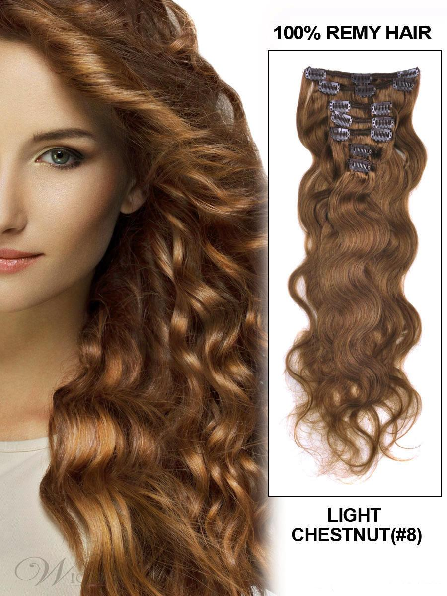 Using hair extensions for volume i want it all indian fashion wavy chestnut clip in hair extension pmusecretfo Image collections