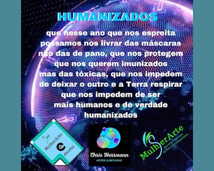 <br>Por dias mais humanizados em 2021! 🥂✨