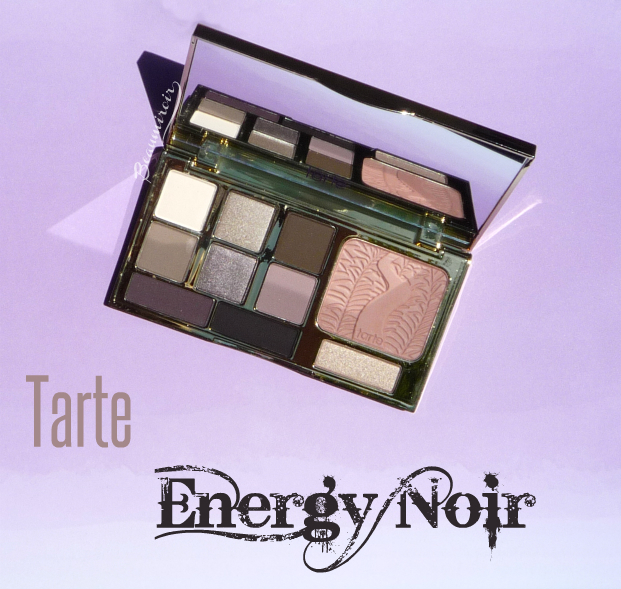 Tarte Energy Noir Clay Palette for eyes & cheeks: review, photos, swatches