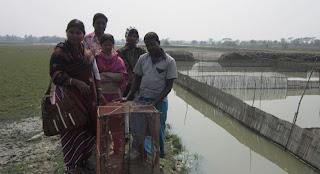 কাঁকড়া চাষ করে স্বাবলম্বী মংলার নাছিমা