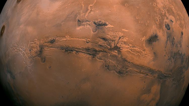 Causa del cambio climático en Marte