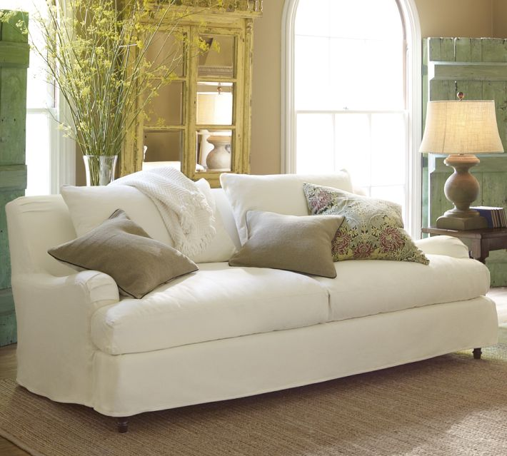 If You Have A White Sofa, Iu0027d Love To Hear Any And All Feedback You Have On  It. And If You Have Slip Covered Furniture Iu0027d Also Be Interested And  Greatly ...