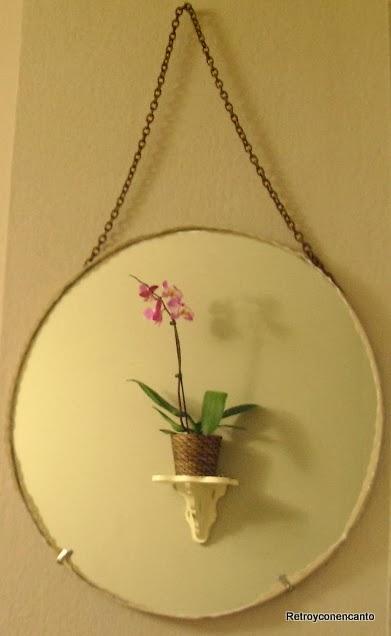 Retro y con encanto espejos sin marco for Espejos ovalados sin marco