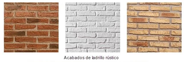 Tipos de ladrillos para construcci n y ladrillos para - Tipos de revestimientos de fachadas ...