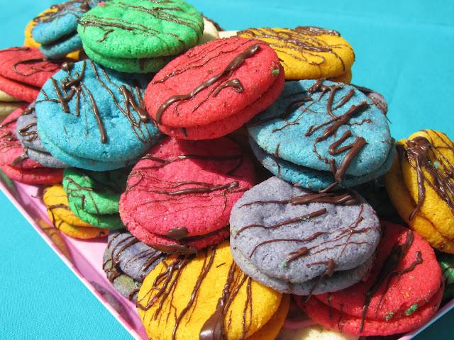 Besos de dama galletas de almendra y chocolate Ana Sevilla