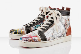 "Unisex Shoe of the Month April 2012- Christian Louboutin ""Louis Trash"" Sneakers"