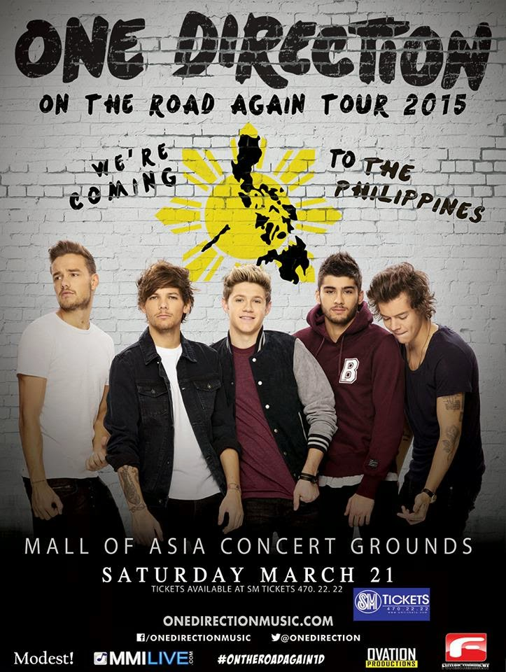 One Direction In Manila On March 2015 Manila Concert Scene