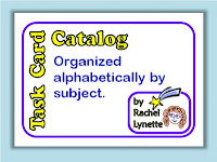 Task Card Catalog
