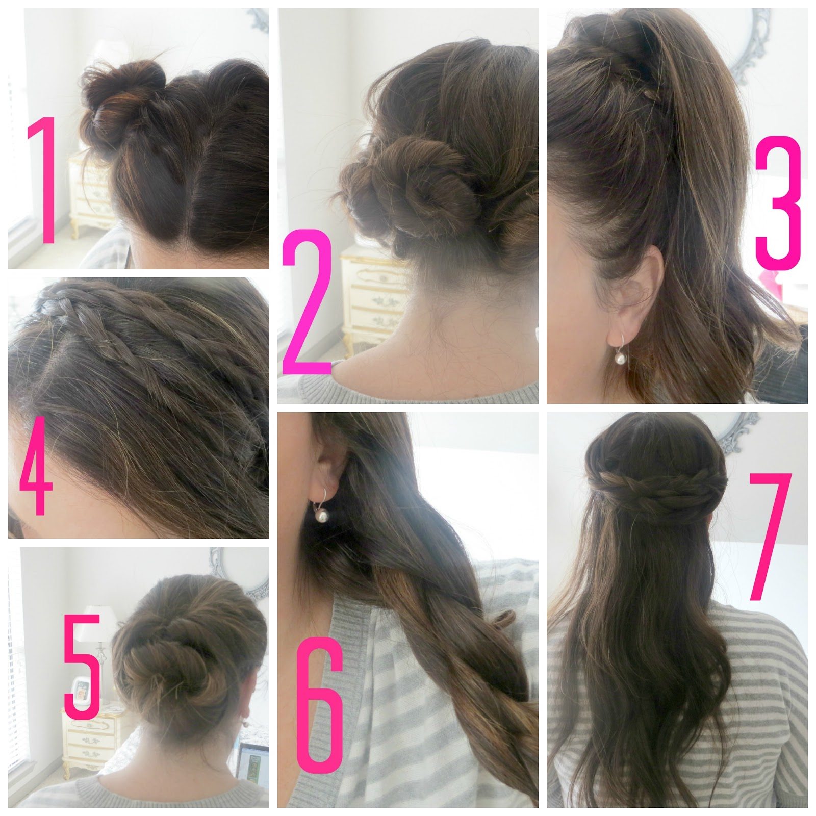 Quick And Easy Hairstyles For School Step By Step Imagesindigobloomdesigns