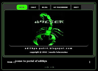 Portal template (Platform Blogger)