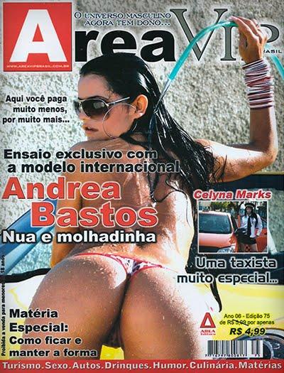 Andrea Bastos pelada