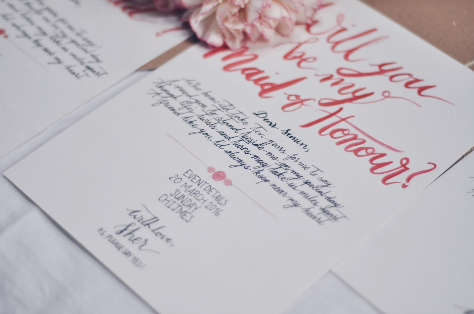 from i will to i do bridesmaids and groomsmen invitations