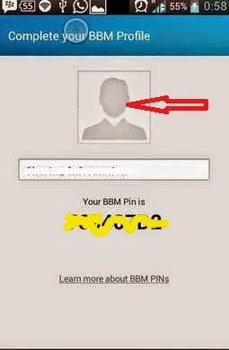 display picture BBM error pada Android