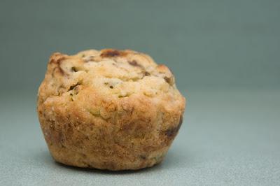 recettes  Muffins zucchini et poire