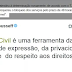 ''MARX CIVIL DA INTERNET'' TIRA O WHATSHAPP DO AR