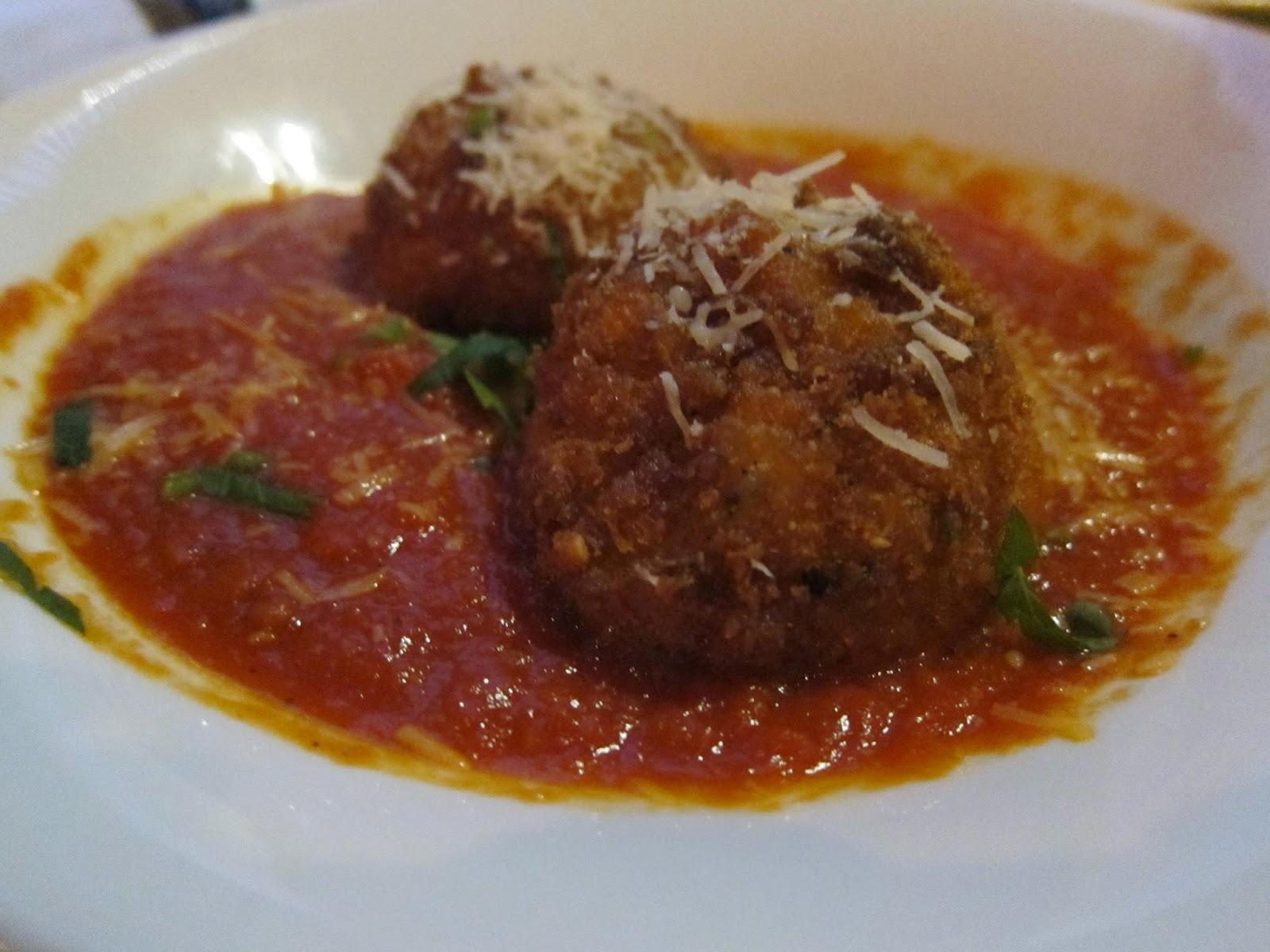 Arancini at Orta | The Economical Eater