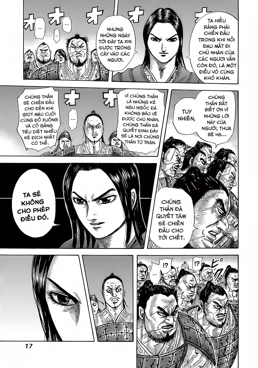 Kingdom - Vương Giả Thiên Hạ Chapter 339 page 17 - IZTruyenTranh.com