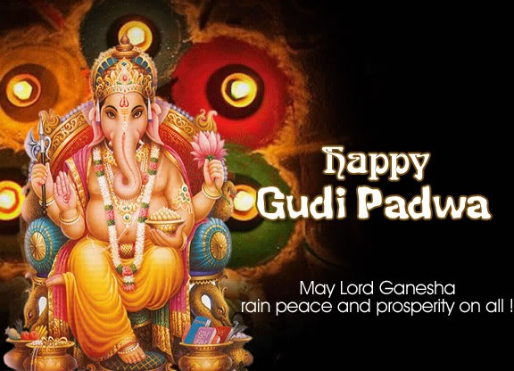 Gudi padwa wallpapers wishes 2012