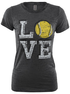 Women's Tennis LOVE Tee