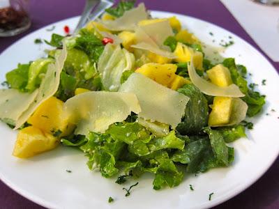 Santa Benedetta salad at Dario's Pune